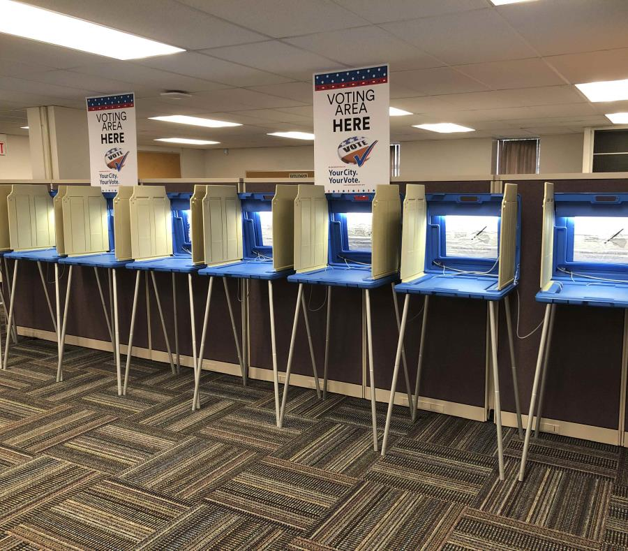 Las elecciones presidenciales del 2020 enfrentarán nuevamente el peligro de interferencias como las que empañaron los comicios del 2016 en EEUU. (AP/Steve Karnowski) (semisquare-x3)