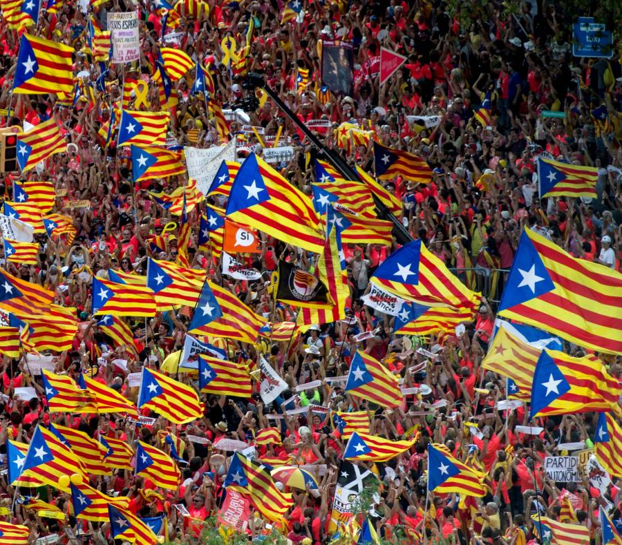 Diada del 11 de septiembre, que recorrere las calles de Barcelona (semisquare-x3)
