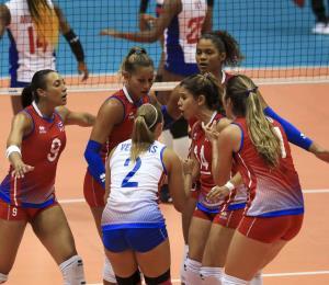 Puerto Rico domina fácilmente a Cuba  en el Norceca de voleibol