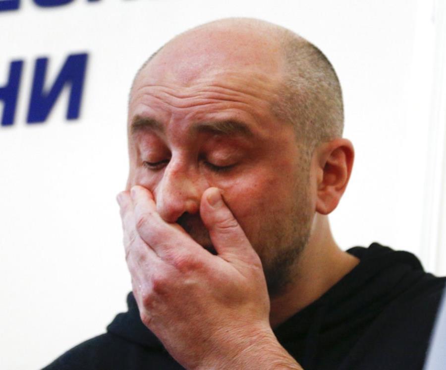 Periodista ruso Arkady Babchenko (semisquare-x3)