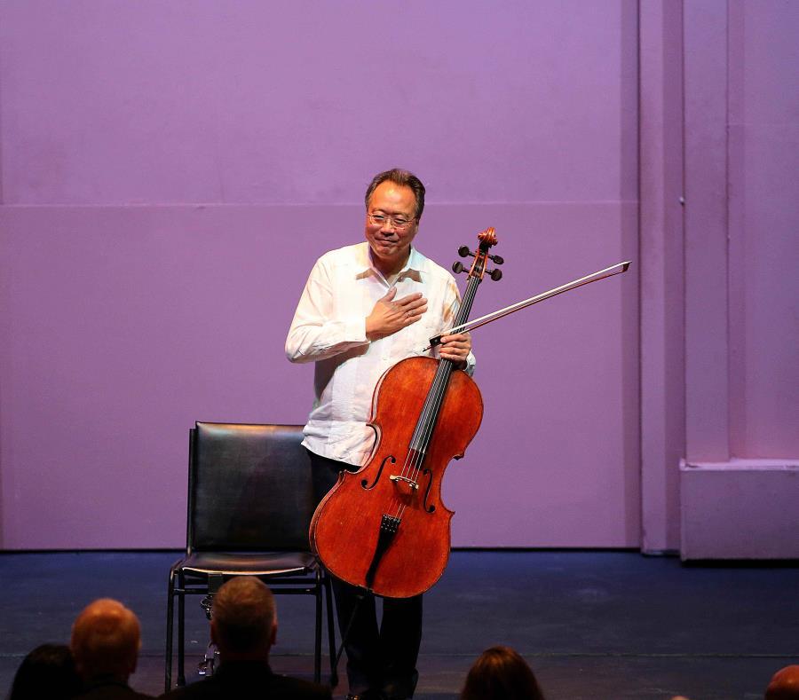 El violonchelista Yo-Yo Ma se presentó en concierto en Puerto Rico en marzo. (GFR Media) (semisquare-x3)