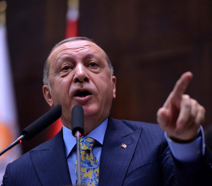 El presidente de Turquía, Recep Tayyip Erdogan (semisquare-x3)
