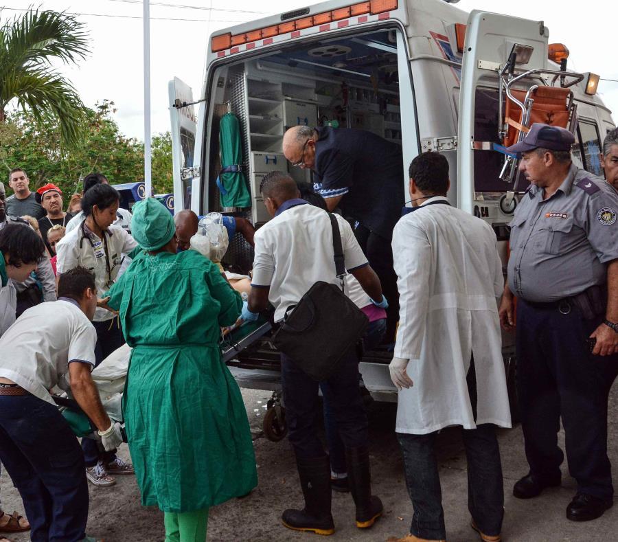 Una sobreviviente del avión Boeing-737 que se estrelló poco después de despegar del aeropuerto José Martí de La Habana (semisquare-x3)