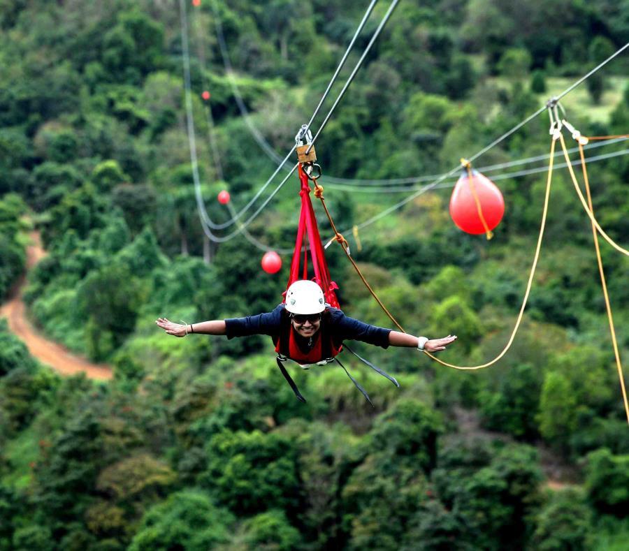 Orocovis se destaca por atractivos como Toroverde Adventure Park, la Ruta de la Longaniza y el bosque Toro Negro. (GFR Media) (semisquare-x3)