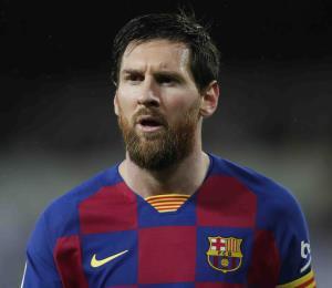 Lionel Messi y los jugadores del Barcelona se recortan el 70 por ciento de su salario