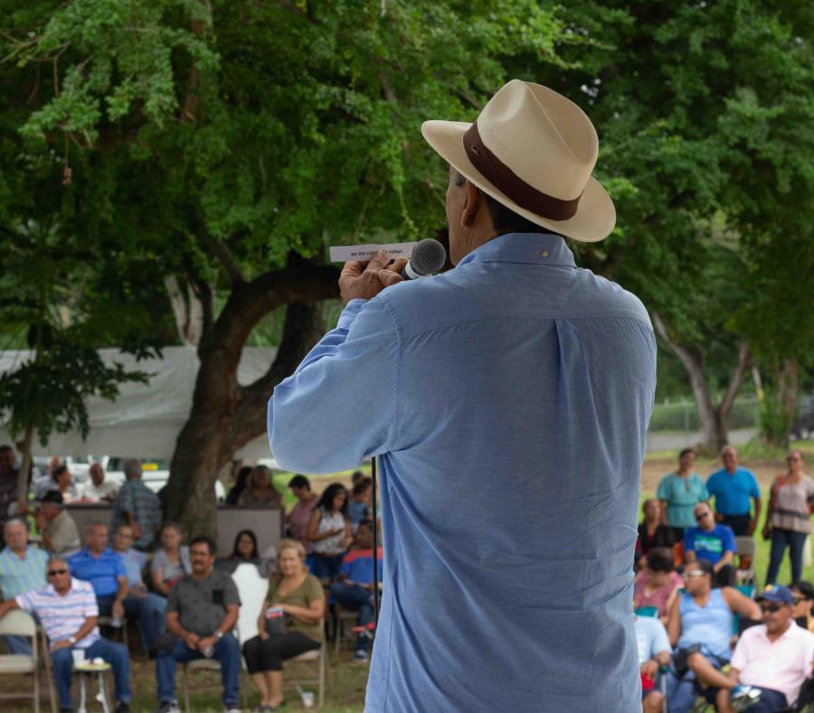 El trovador Marcos Collazo Texeira durante una pasada presentación. (Suministrada) (semisquare-x3)