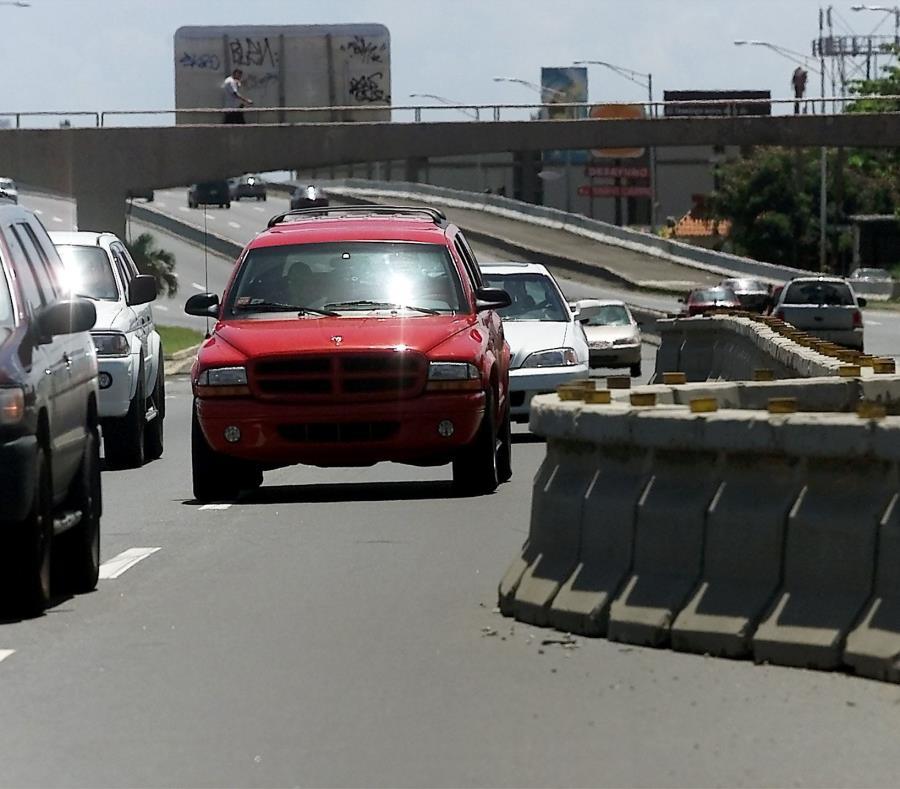Según el DTOP, el precio de los carriles dependería de la congestión vehicular (semisquare-x3)