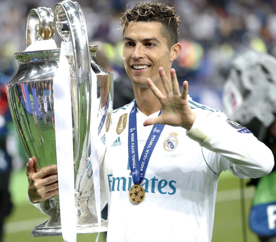 Cristiano Ronaldo intentará trasladar sus recientes éxitos en el Real Madrid –ganador de tres Liga de Campeones consecutivas– a la Copa Mundial. (AP / Pavel Golovkin) (semisquare-x3)