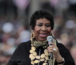 La cantante Aretha Franklin se encuentra muy grave