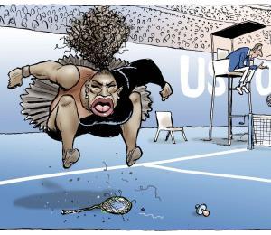El descontento de Serena Williams encuentra eco en mujeres negras