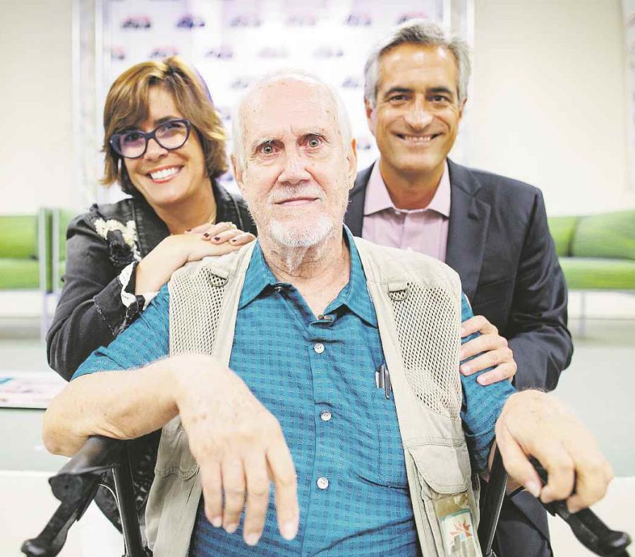 María Eugenia Ferré Rangel y Luis Alberto Ferré Rangel, quien catalogó a Ramos como uno de sus  mentores (semisquare-x3)