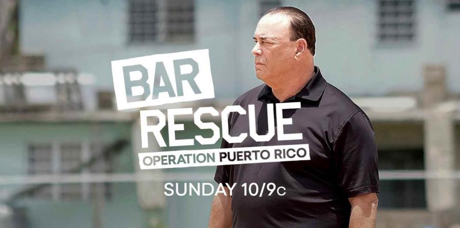 El episodio de Bar Rescue en Puerto Rico se transmitirá por el canal 254 de Paramount Network en DirecTV. (horizontal-x3)