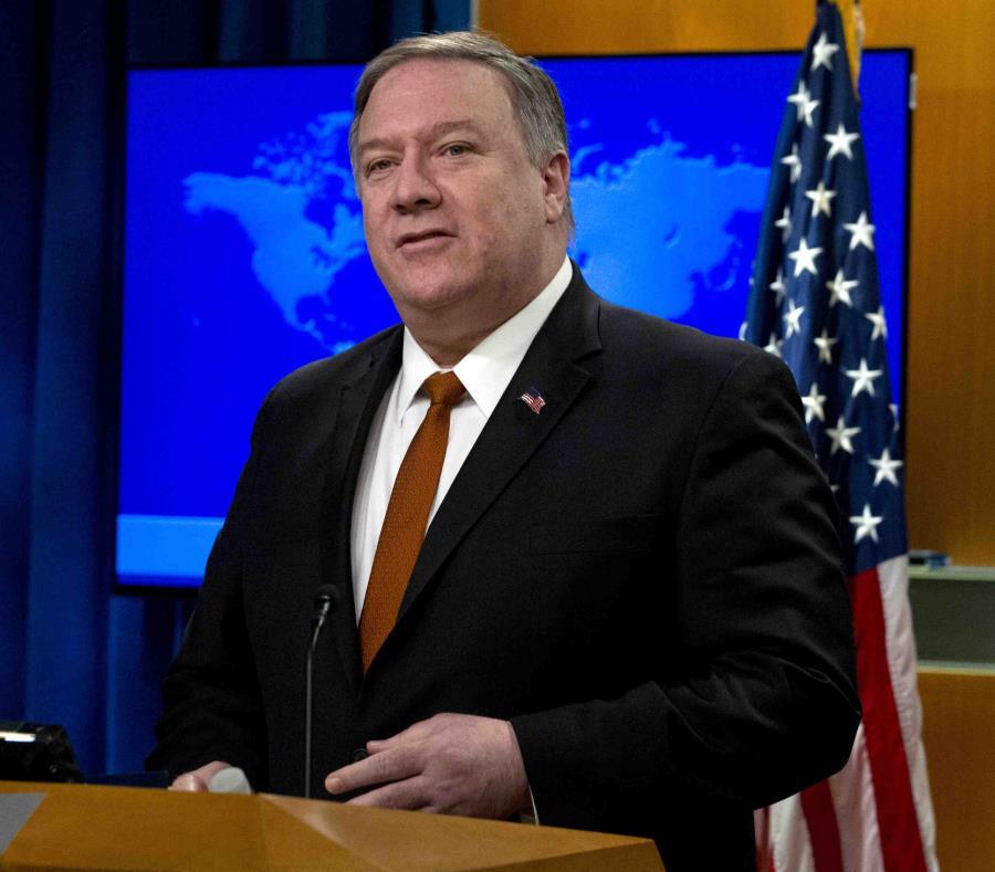 Mike Pompeo, secretario de Estado de Estados Unidos (semisquare-x3)
