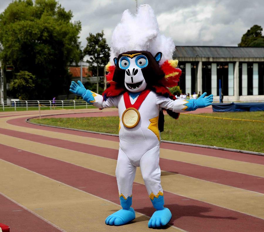 La mascota de la edición 23 de los Juegos Centroamericanos y del Caribe Barranquilla 2018