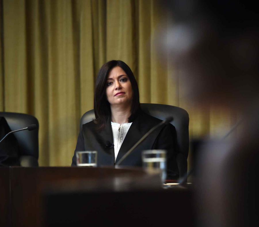 La jueza presidenta del Tribunal Supremo, Maite Oronoz (semisquare-x3)