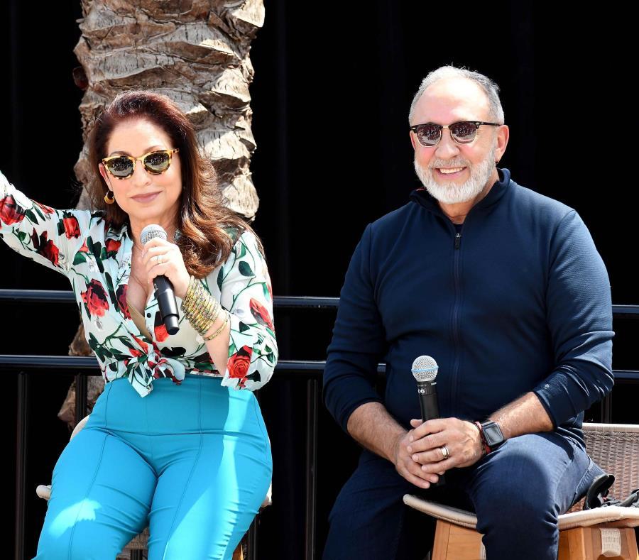 Gloria y Emilio Estefan tienen sus estudios en Miami. (EFE) (semisquare-x3)