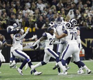 Los Rams de Los Ángeles avanzan al Super Bowl