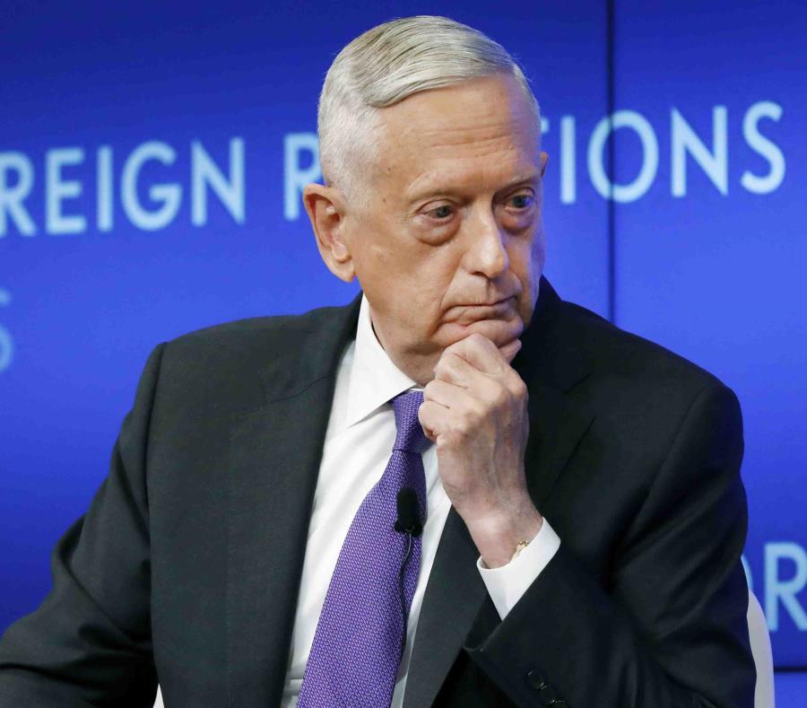 Jame Mattis exsecretario de Defensa