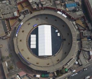 Plaza taurina más antigua de Latinoamérica ahora será refugio por COVID-19