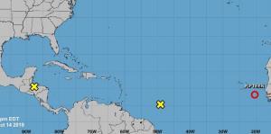 Se forma depresión tropical en el este del Atlántico