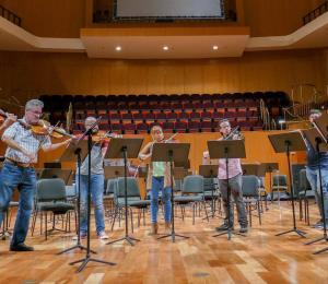 Concierto de violines en el Ateneo Puertorriqueño