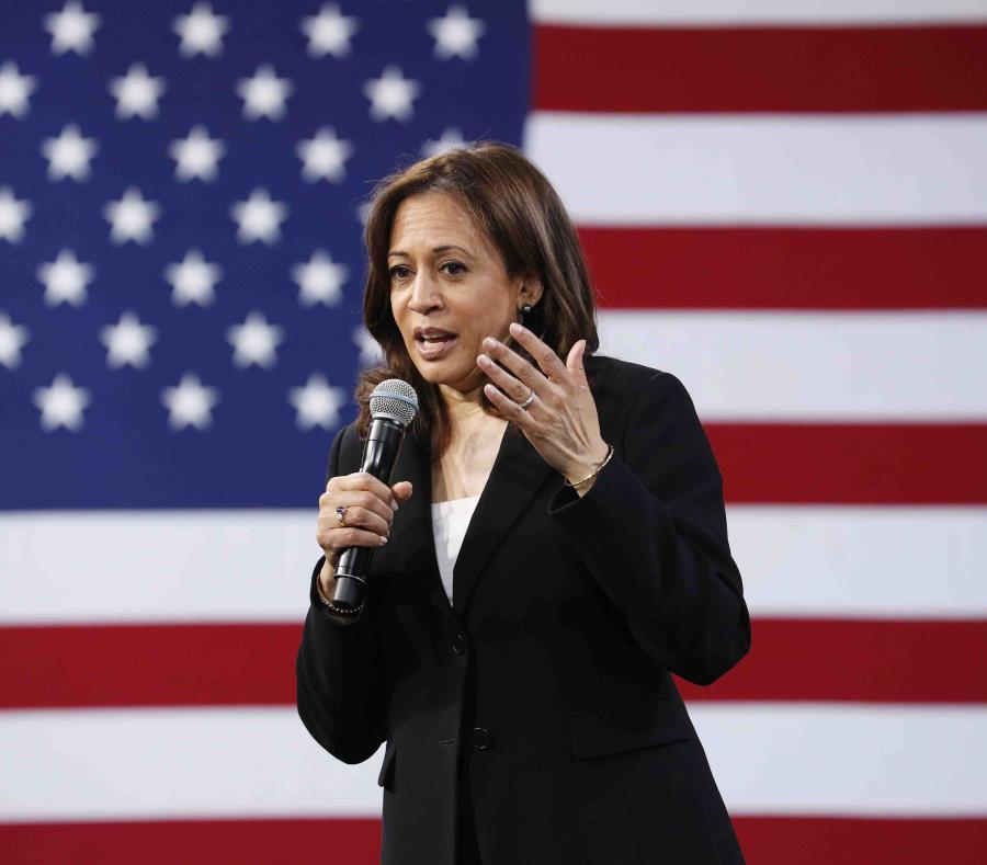Kamala Harris es una de las candidatas para la presidencia de los Estados Unidos por el partido demócrata. (AP / John Locher) (semisquare-x3)