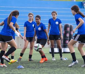 Las futbolistas boricuas lograron salir de Nicaragua