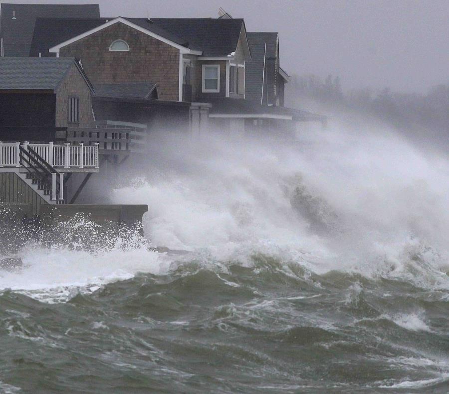 Una segunda tormenta en cinco días azota noreste de EE.UU. | El ...