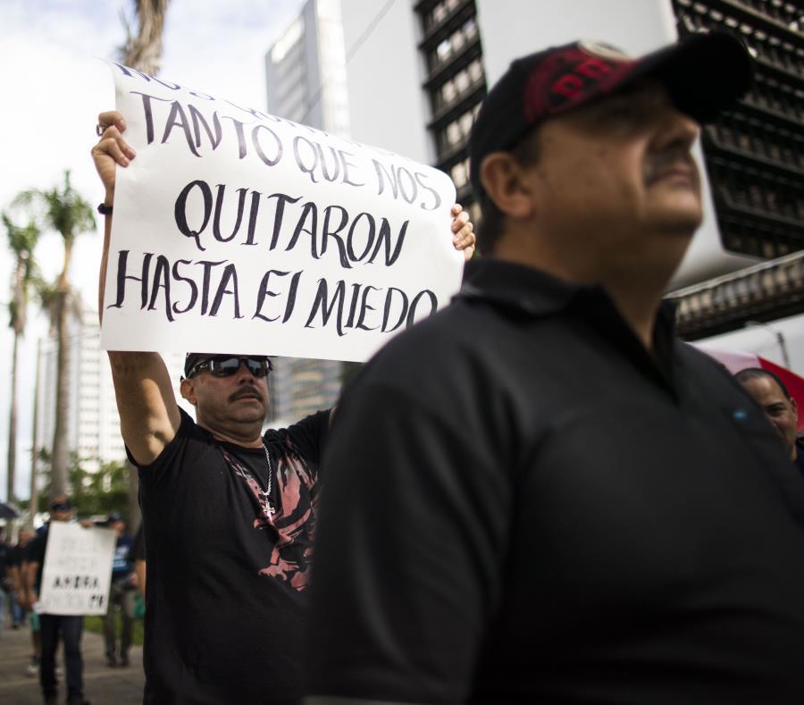 Seis organizaciones de trabajadores realizarán una manifestación mañana a las 10:00 a.m. (semisquare-x3)