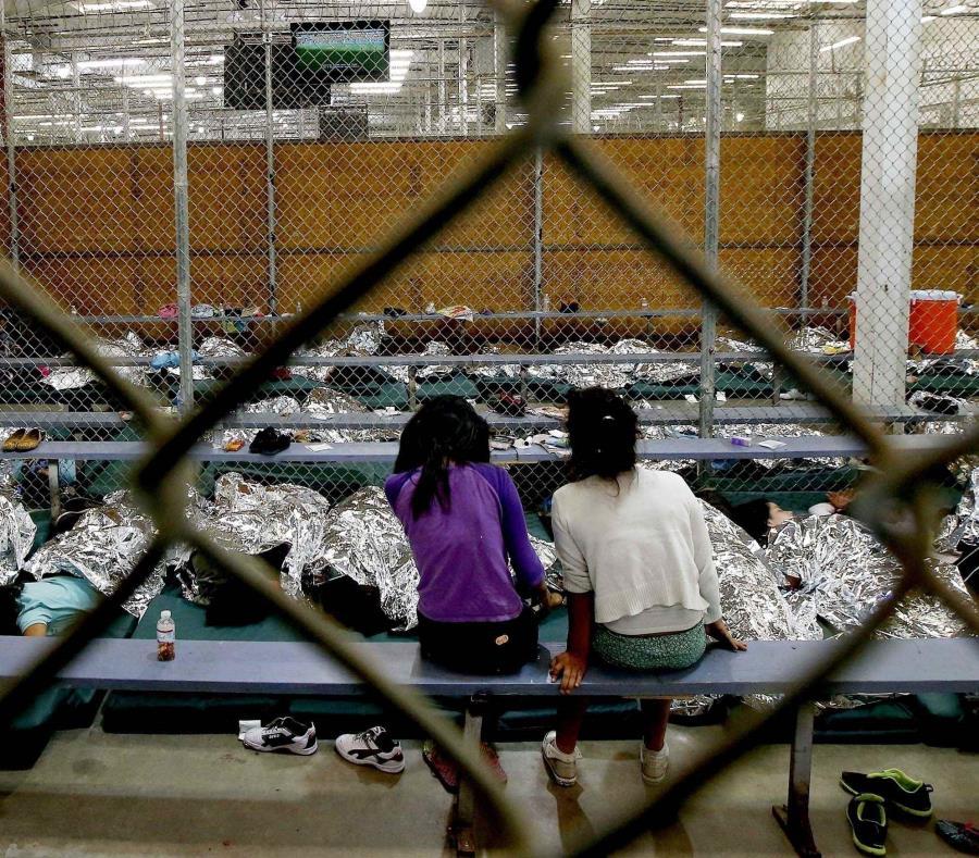 Niños migrantes en uno de los centros de detención (semisquare-x3)