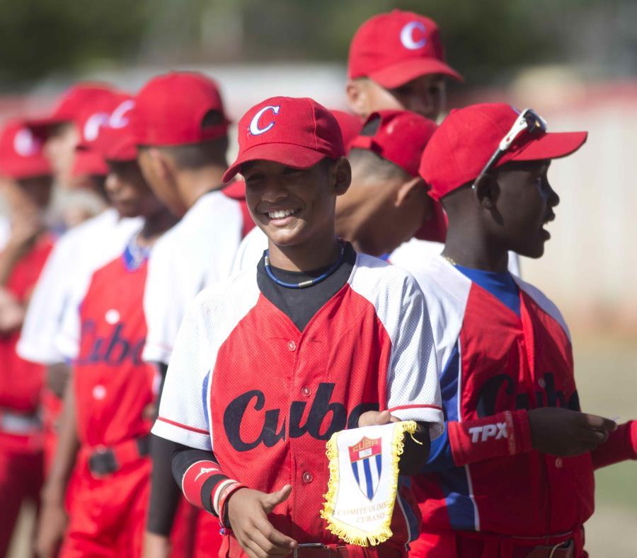 Un joven Víctor Mesa Jr. con la selección e Cuba en el 2014. (GFR Media) (semisquare-x3)