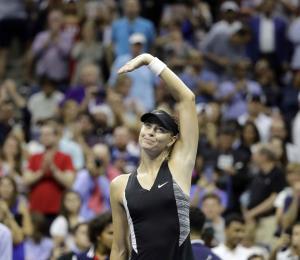 Sharapova pone fin a su temporada por lesión en el hombro