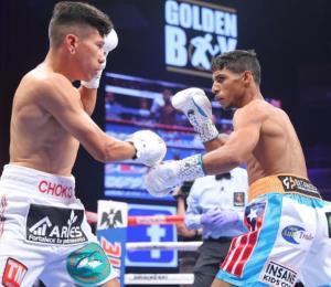 Tito Acosta defiende su cetro con nocaut en el segundo asalto