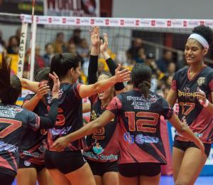 Las Amazonas de Trujillo Alto se juegan la vida en el voleibol femenino