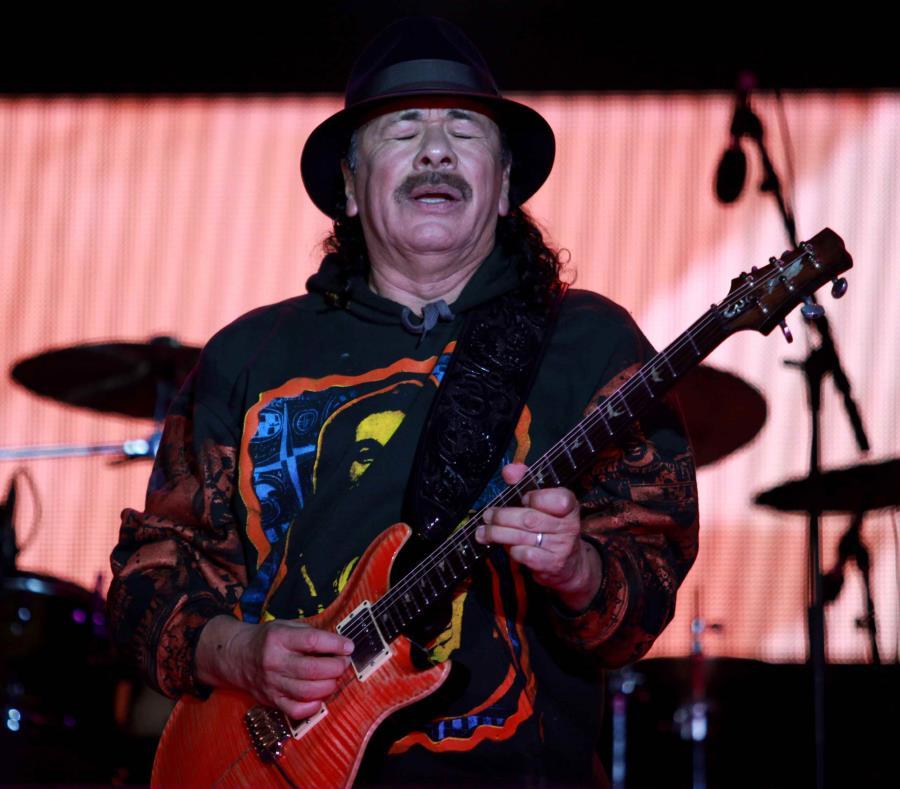 Carlos Santana endosa a Hillary Clinton (semisquare-x3)