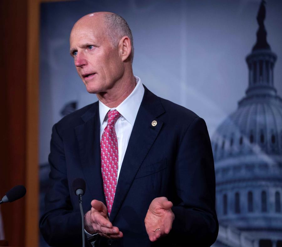 El senador republicano de Florida, Rick Scott. (EFE) (semisquare-x3)