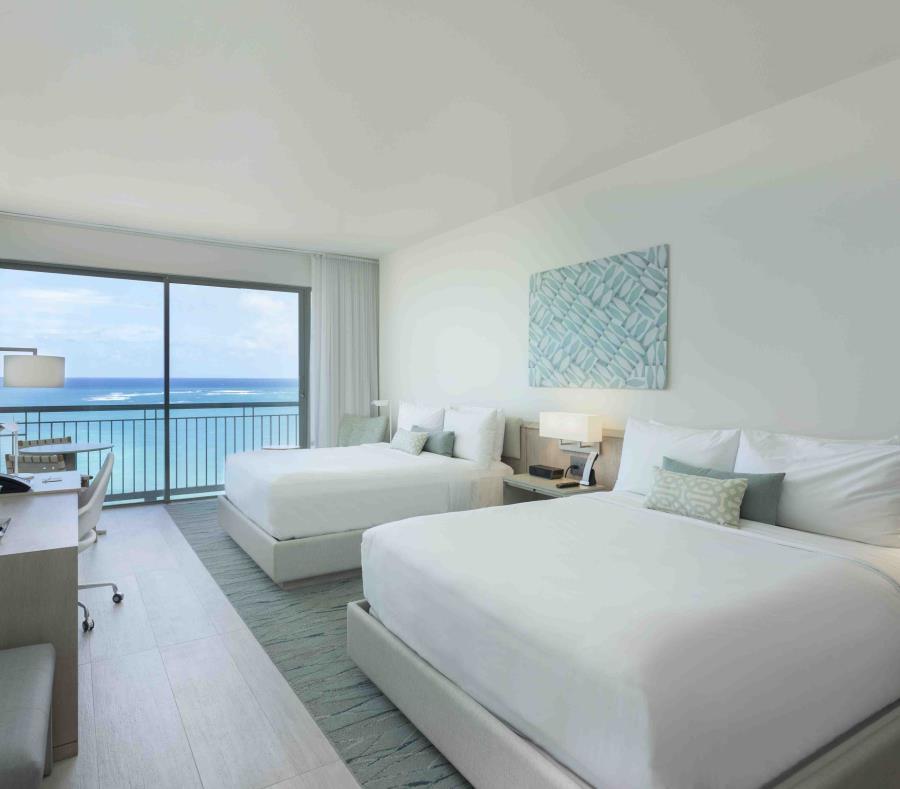 La imagen muestra una habitación doble en el hotel La Concha A Renaissance Resort. (Suministrada) (semisquare-x3)