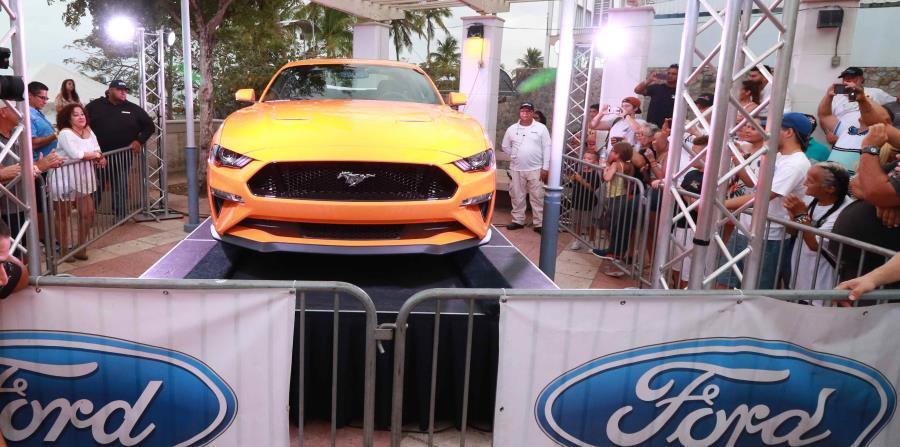 El nuevo Ford Mustang fue presentado por primera vez en la isla en la actividad Mustown, en La Parguera. (horizontal-x3)