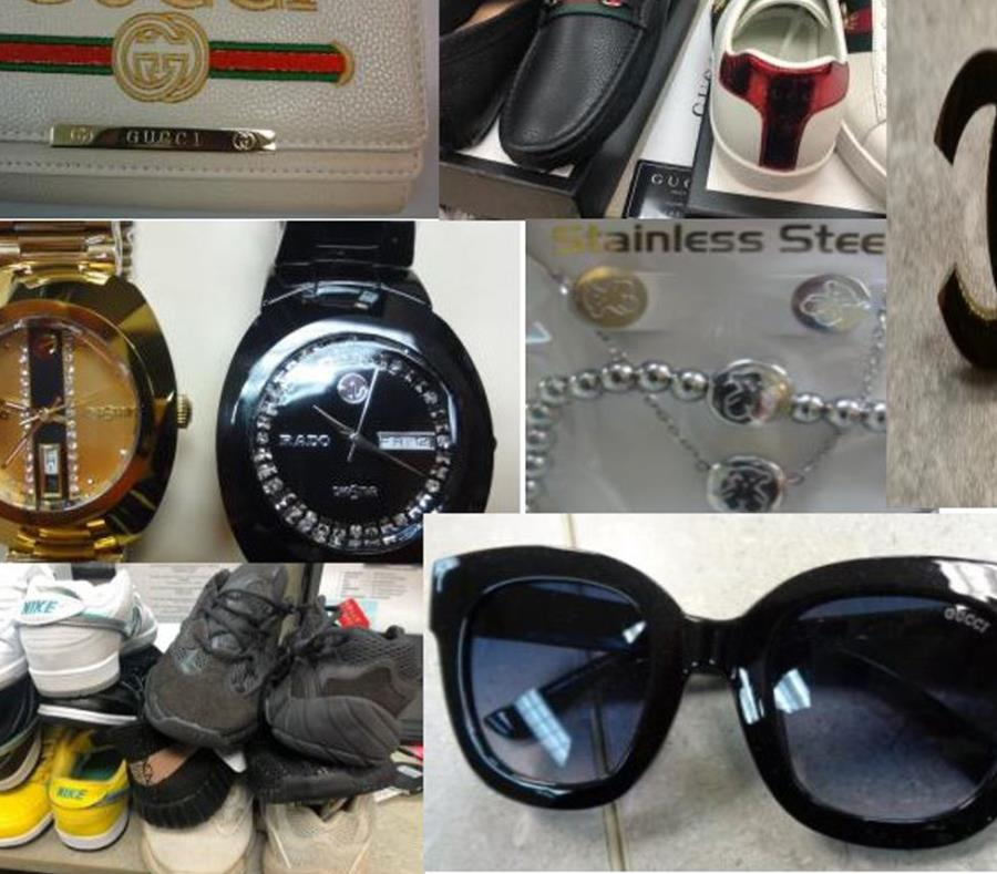 Entre los productos se encuentran gafas, zapatos y carteras (semisquare-x3)