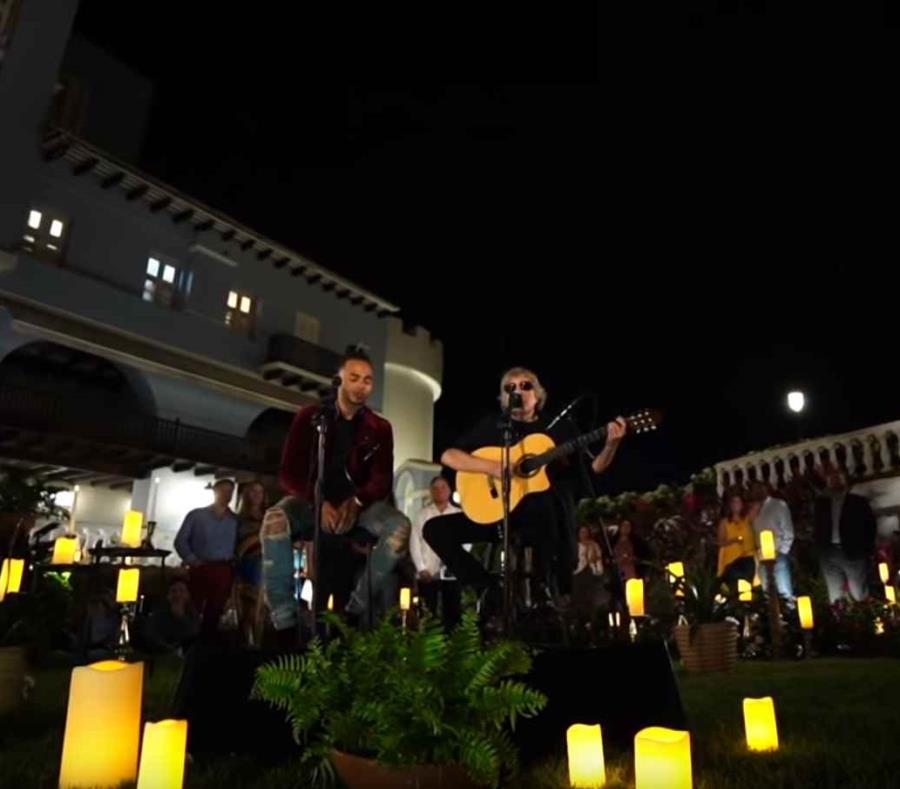 José Feliciano tuvo a su cargo la interpretación de las estrofas de la canción, mientras que Ozuna realizó algunas melodías (semisquare-x3)