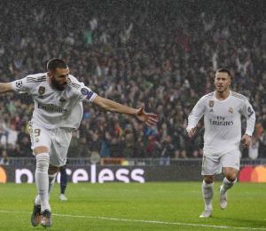 El Real Madrid y el PGS empatan en la Champions