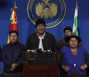 Evo Morales y la crisis política boliviana