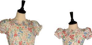 Dos vestidos de Elizabeth II y Margaret son subastados por más de $18,000