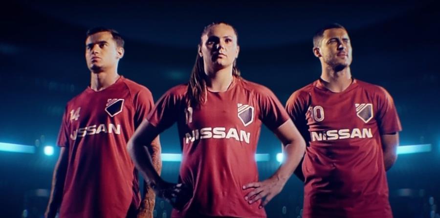 De izquierda a derecha: Philippe Coutinho, del FC Barcelona;  Lieke Martens, del FC Barcelona femenino; y Eden Hazard del FC Chelsea. (horizontal-x3)