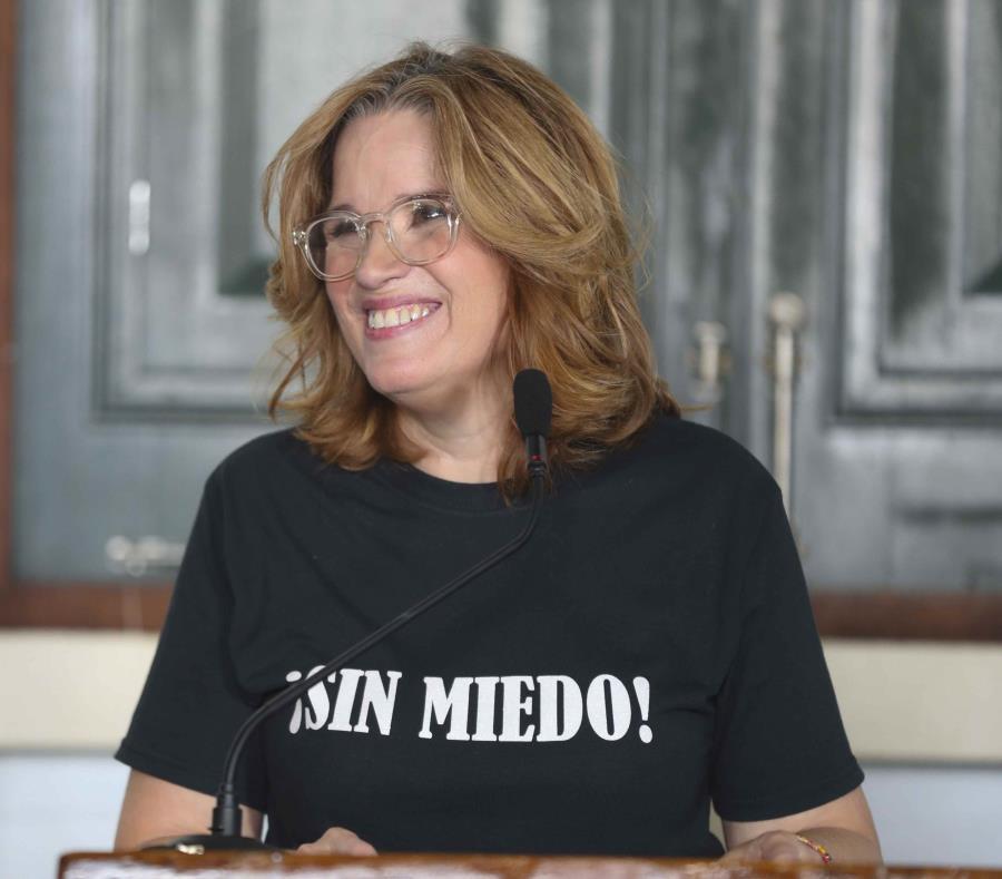 Carmen Yulín Cruz Soto hizo anuncio esta tarde en el Jardín Botánico y Cultural de Caguas. (semisquare-x3)