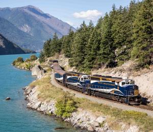 Tren de lujo desde Vancouver