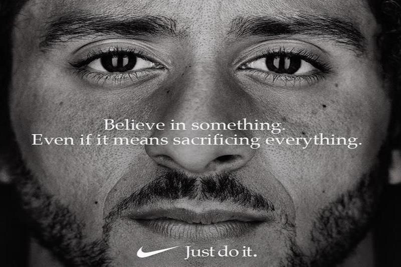 Esta imagen de Colin Kaepernick es parte de la campaña que lanzó Nike. (Instagram / Colin Kapernick) (semisquare-x3)